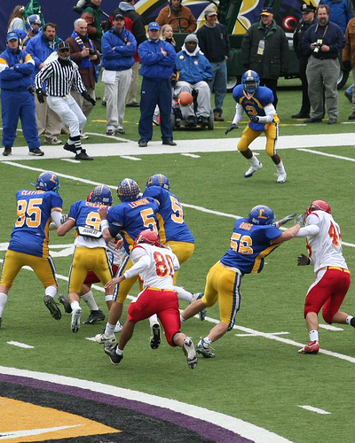 Calvert Hall Vs. Loyola Turkey Bowl 2005
