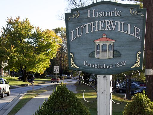Historic Lutherville Sign