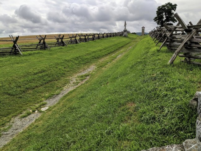 Bloody Lane, Antietam National Battlefield Sharpsburg